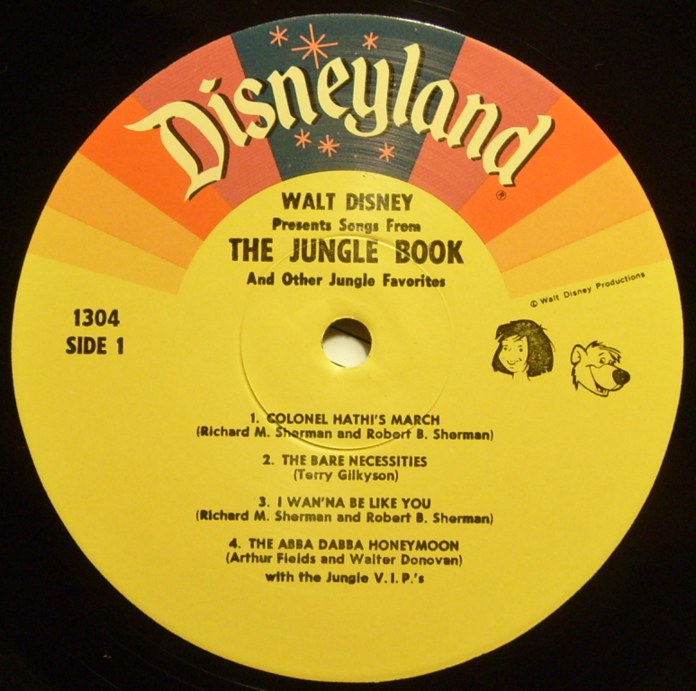 Waltsmusic 1304 Songs From Walt Disney S The Jungle Book And Other