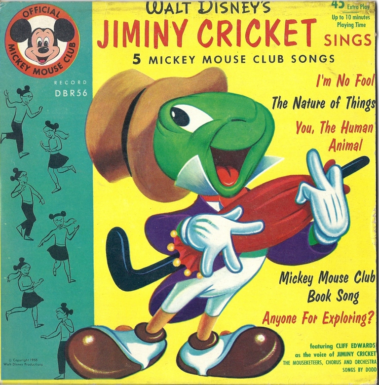 DBR 56 Jiminy Cricket sings