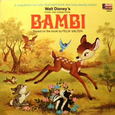 3903 Story and Songs from Bambi
