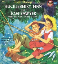 D291 Huckleberry Finn and Tom Sawyer