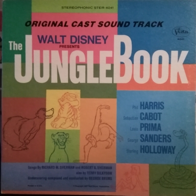 STER-4041 Walt Disney Presents the Jungle Book