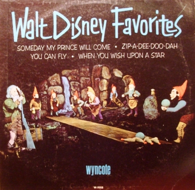 W-9058 Walt Disney Favorites