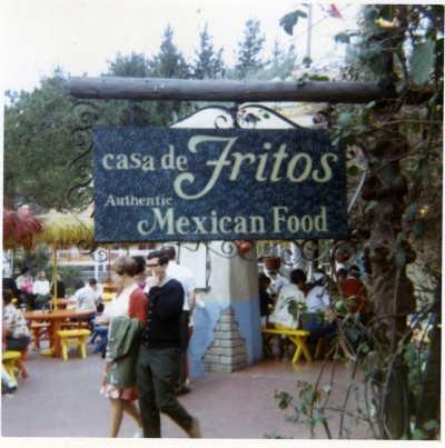 Disneyland Mexican Music 1974 (Casa De Fritos?)