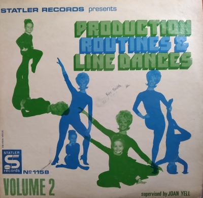 Statler 1158 Production Routines and Line Dances