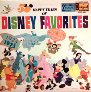 STER-3513 50 Happy Years of Disney Favorites