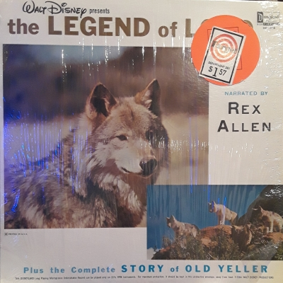 DQ-1258 The Legend of Lobo plus The Story of Old Yeller