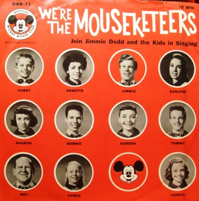 DBR-71 We're the Mouseketeers