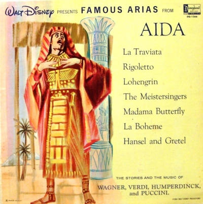 DQ-1266 Walt Disney Presents Famous Arias