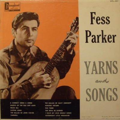 WDL-3007 Fess Parker Yarns and Songs