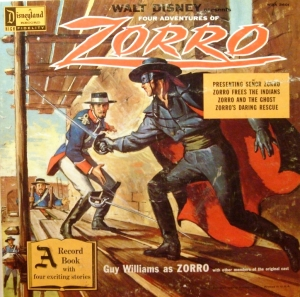 WDA-3601 Four Adventures of Zorro