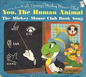 D224 You, The Human Animal / The Mickey Mouse Club Book Song
