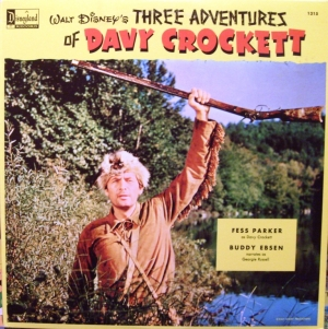 1315 Three Adventures of Davy Crockett