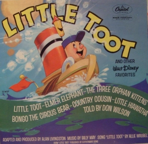 J3256 Little Toot and other Walt Disney Favorites