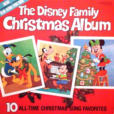 3518 The Disney Christmas Family Album