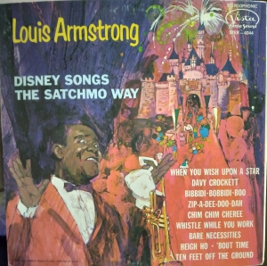 STER-4044 Louis Armstrong Disney Songs the Satchmo Way