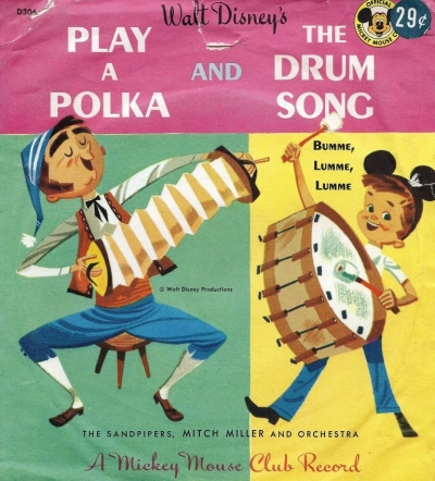 D306 Play A Polka and The Drum Song