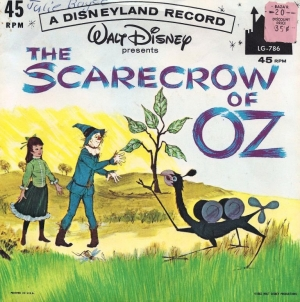 LG-786 The Scarecrow of Oz / That Crazy Place From Outer Space