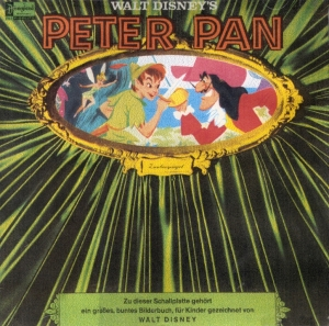 Peter Pan Schallplatte in German