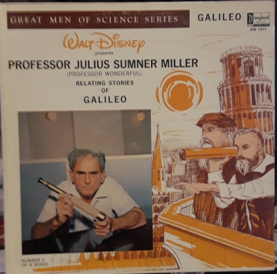 DQ-1271 Professor Wonderful relating stories of Galileo