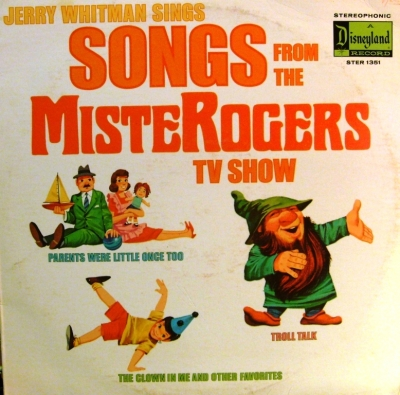 STER-1351 Songs from Mister Rogers TV Show