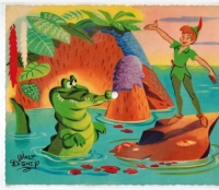 Peter Pan postcard record